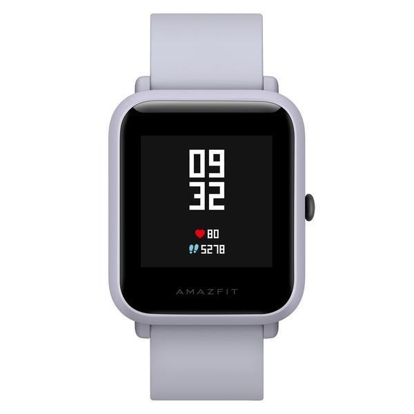 Relógio fitness amazfit bip branco