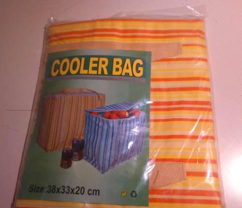 Saco térmico novo 38x33x20cm ideal compras