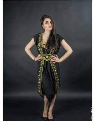 Kaftan - macacão - traje típico marroquino