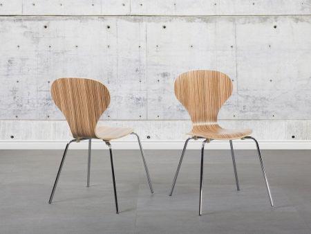 Cadeira de refeição marrom claro - madeira - cadeira de