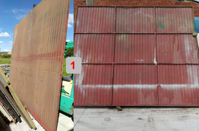Portão garagem em ferro usadosvárias medidas