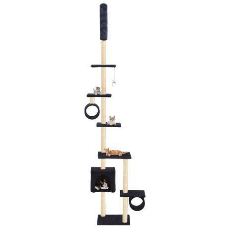 Vidaxl árvore gatos c/ postes arranhadores sisal 260 cm