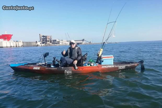 Kayak pesca ou lazer radar 135
