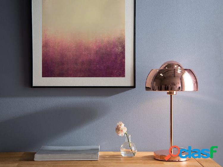 Candeeiro de mesa - vermelho cobre - senette