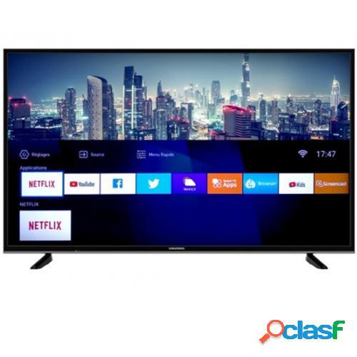 "Grundig 43GDU7500B TV 109,2 cm (43"") 4K Ultra HD Smart TV Wi-Fi Preto"
