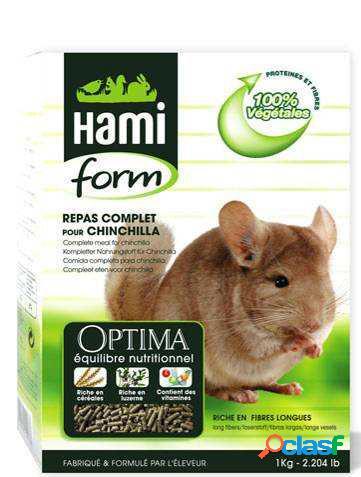Hami form alimento completo para chinchilas 1 kg