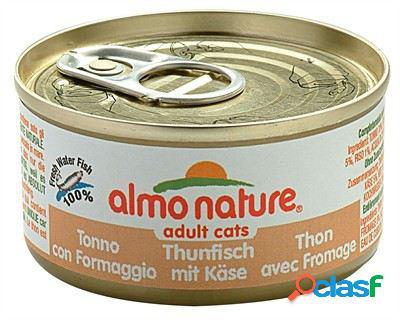 Almo nature atum, frango e queijo 24x70 gr