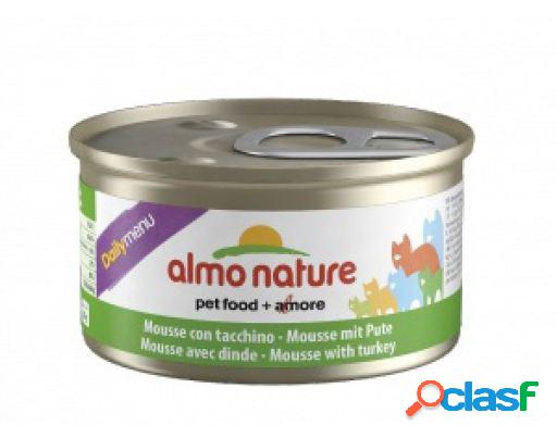 Almo nature turquia diária do menu 12x85 gr