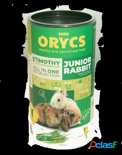 Miniorycs pienso natural para conejos junior 1.4 kg