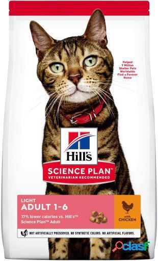 Hill's science plan adult de pollo light 7 kg