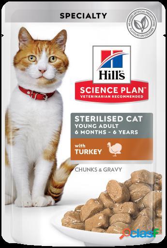 Hill's science plan esterilizado young adult pavo 12x85 gr