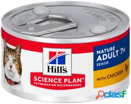 Hill's science plan senior de pollo en lata 82 gr
