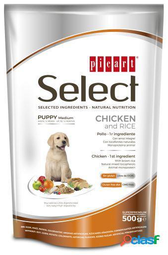 Picart Select Puppy Frango e Arroz 800 GR