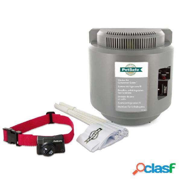 PetSafe PatSafe Sistema contenção p/ animais sem fio +3,6kg 55m cinzento 6085