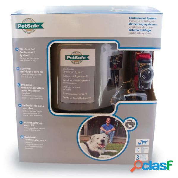 PetSafe PatSafe Sistema contenção p/ animais sem fio +3,6kg 55m cinzento 6085 2