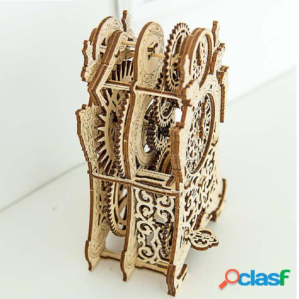 WOODEN CITY Kit/maqueta relógio mágico à escala madeira 1