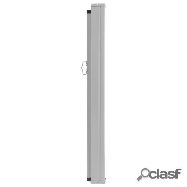 vidaXL Toldo lateral retrátil para pátio 100x500 cm creme 2