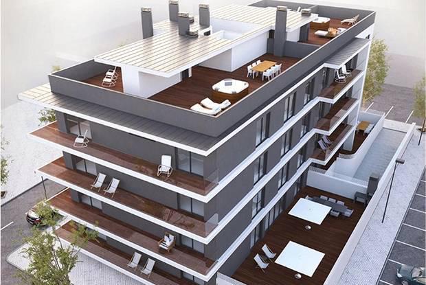 Apartamento novo t4 com 4 wc em tavira