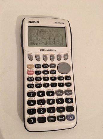 Calculadora gráfica fx-9750gii em bom estado
