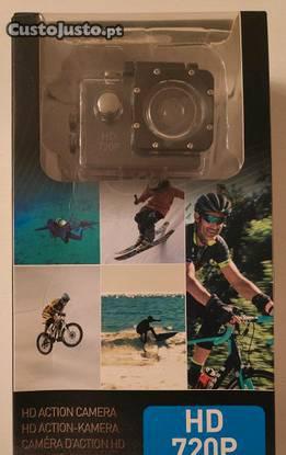 Câmera acção/desporto grundig 720p hd