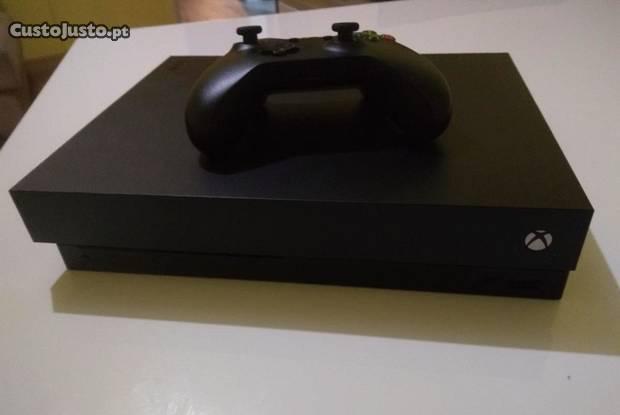 Xbox one x preto - 1 comando