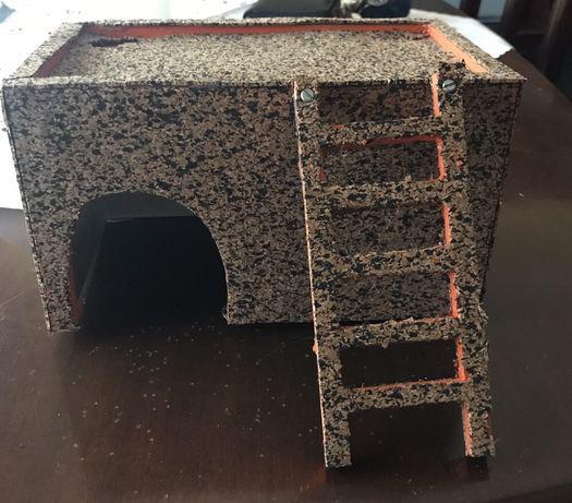 Casa para porquinho da índia/hamster