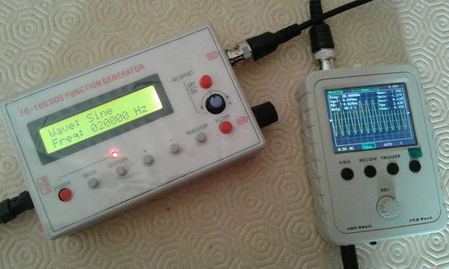 Gerador de funções de sinais portátil (atualizado)
