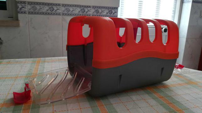 Caixa para transporte animais