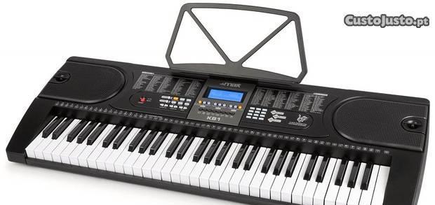 Orgão teclado musical electrónico (61 teclas) kb1