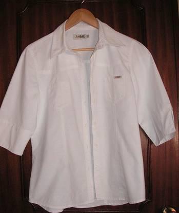 Blusa / camisa branca t-xl