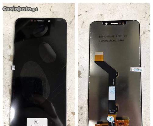 Ecrã / display + touch para motorola one - novo