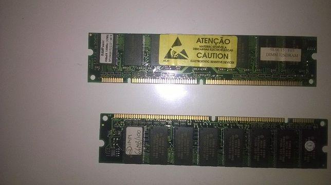 2 módulos dimm 32+64 mb