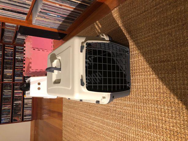 Caixa / gaiola transporte pet (cão gato, coelho... nova
