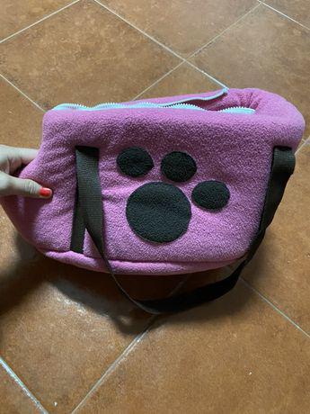 Mala transportadora cão porte pequeno