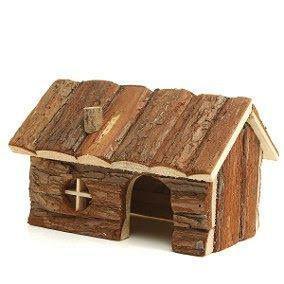 Casa para roedores nova