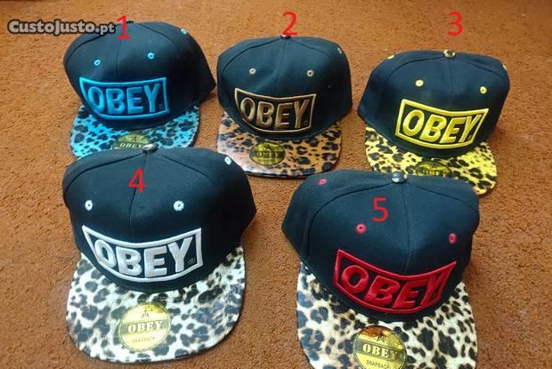 Boné cap chapéu obey stock vários modelo