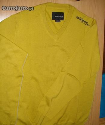 Camisola energie amarela - tam. m
