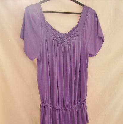 Camisola violeta, bonita! como nova! - tam.m/l