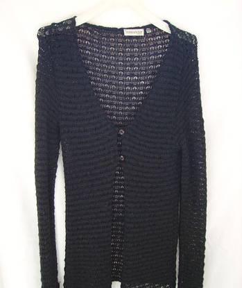Casaco preto moderno - terranova - tamanho m