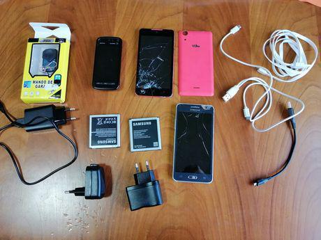 Comando portão e peças telemóvel