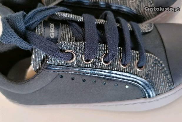 Geox novas sapatilhas nr 25, 26, 29 ou 30