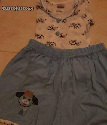 """Pijama l de verão """"novo e embalado"""" dona erago"""