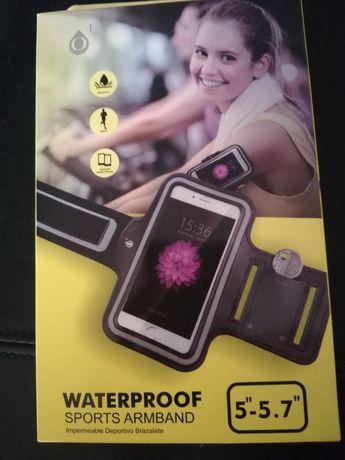 Bolsa telemóvel desportiva de braço