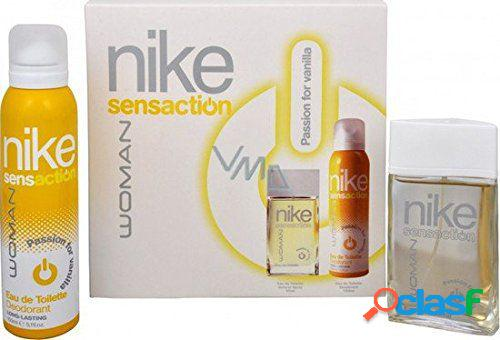 Nike sensa vanilla case mulher 50 ml vapo + desodorizante 75 ml