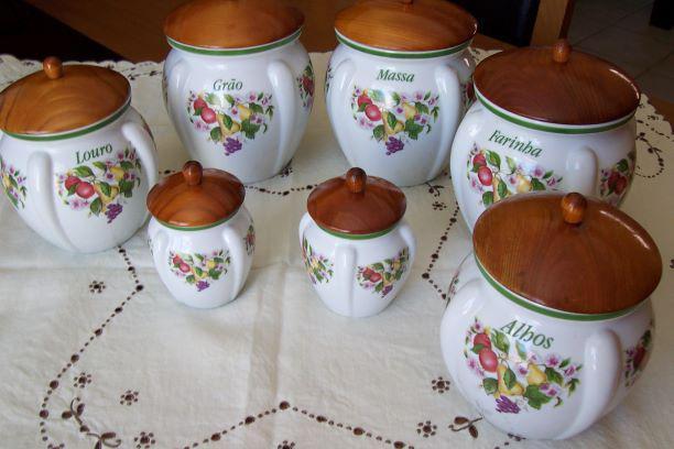 Conjunto loiças de cozinha das porcelanas belver