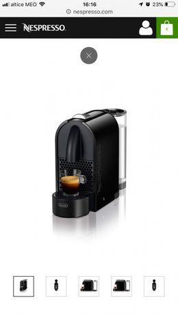 Máquina nespresso u black nova
