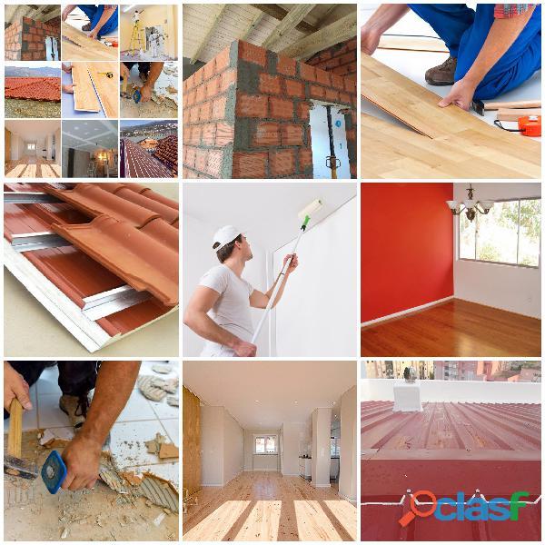 Pintura, Pladur, Telhado, Remodelações Gerais
