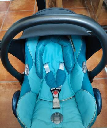 Cadeira auto 0+ ovo bebé car maxi cosi quinny