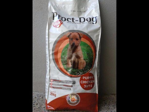 Ração proct-dog da visanpuppy/ cachorro