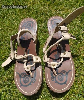 Sandálias cunha seaside
